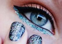 Maquiagem com Glitter: 11 Inspirações para Você Arrasar no Réveillon
