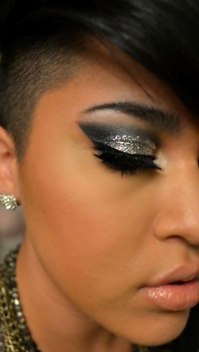 Maquiagem com Glitter perfeita!